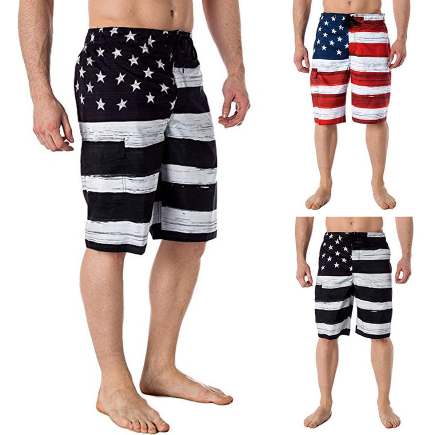 959a24421e David New Men Shorts, Pants, American Flag, Independance Day – Stars ...
