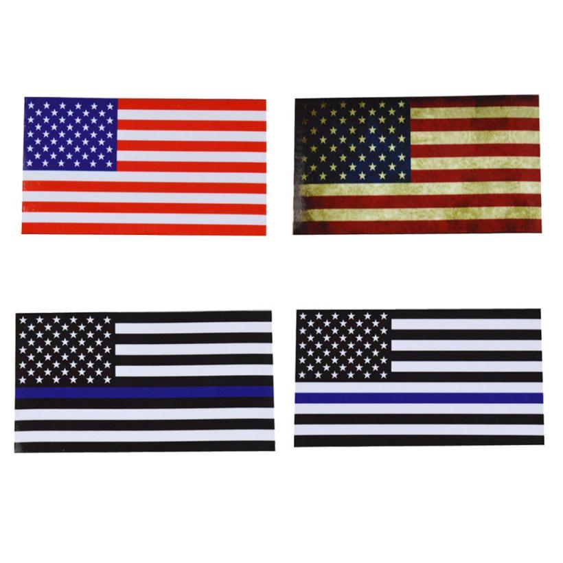 American Flag USA Stars United States Car Window Laptop Decal Sticker
