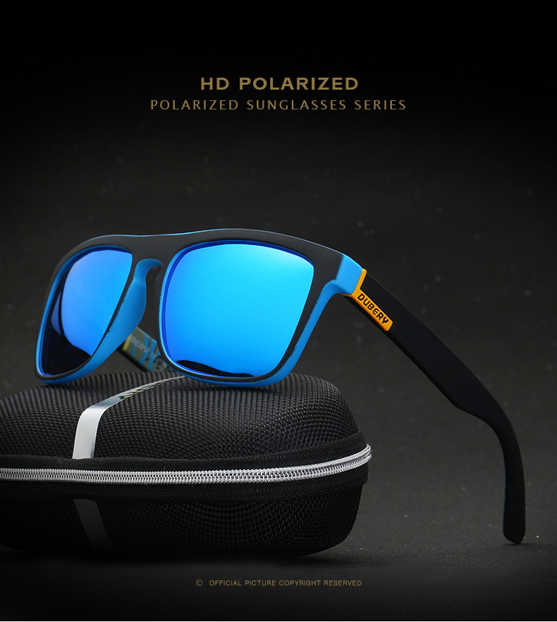 743484f4cfa DUBERY Colorful Men s Polarized Sunglasses